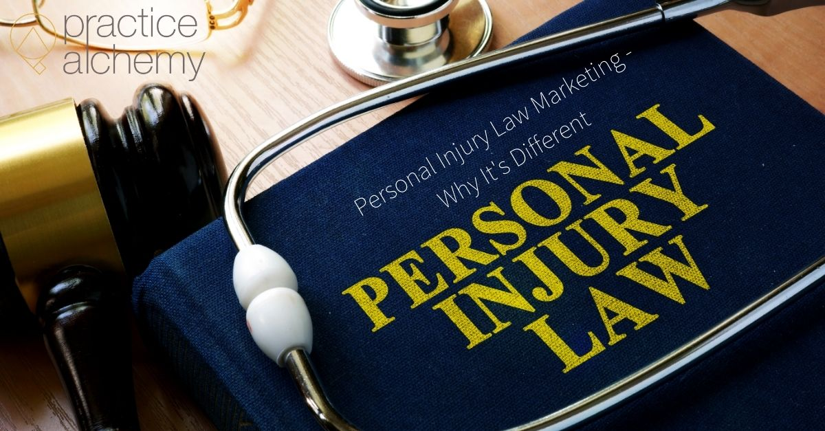 Personal Injury Law Marketing - Why Its Different